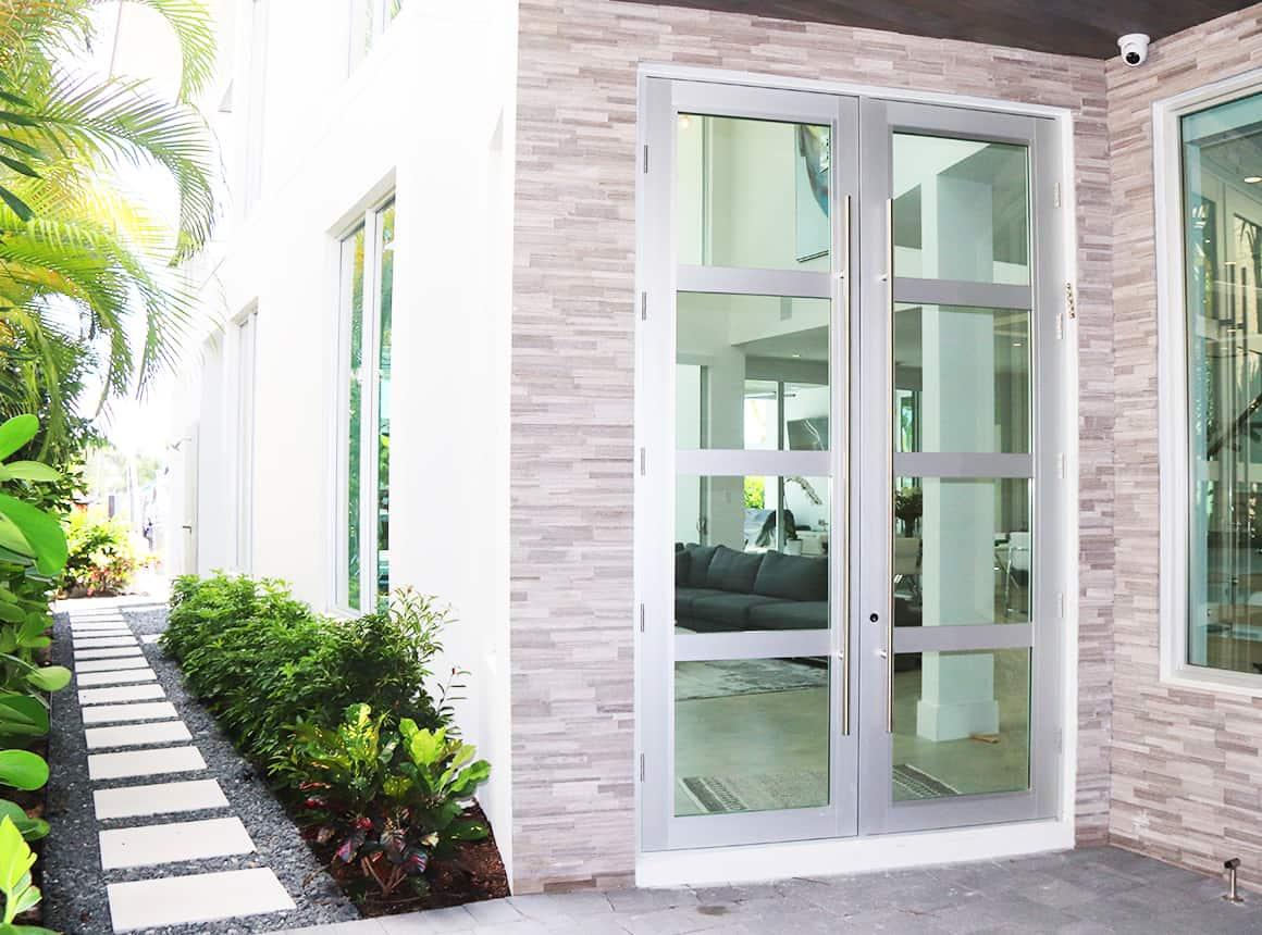 高端佛罗里达家门口门